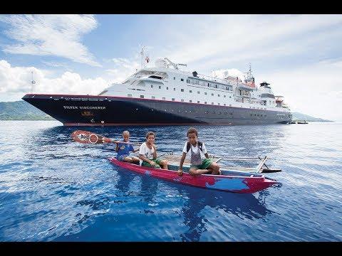 Kapal Silver Discoverer sandar di Aceh