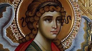 Сумская Икона Архангел Гавриил для Царских Врат Иконопись Обзор Готовой Иконы