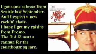 The Wells Fargo Wagon-The Music Man