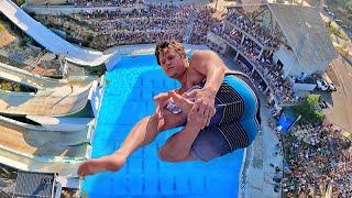 Jumping Off A RedBull High Diving Platform!!