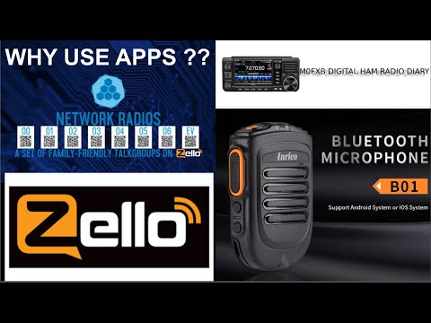ZELLO - Network Radios - Is this real radio or even worth using ???? M0FXB