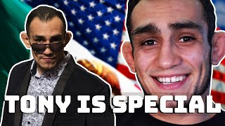 Tony Ferguson trying to be normal for 3 minutes..