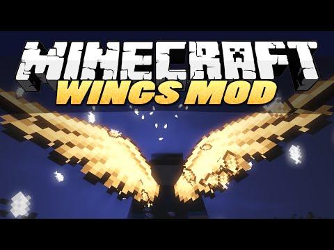 моды на майнкрафт 1.7.10 cosmetic-wings