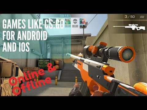 Top 5 Games Like CS:GO For Android 2020 | Online And Offline | FREE FPS GAME MOBILE
