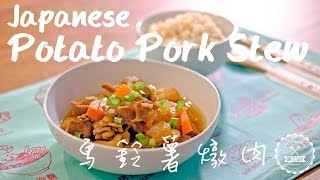 Japanese Potato Pork Stew