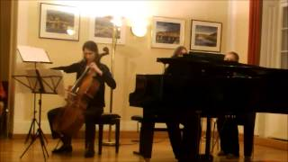 L. van Beethoven Sonate für Klavier und Cello Nr. 5, F-Dur op. 24