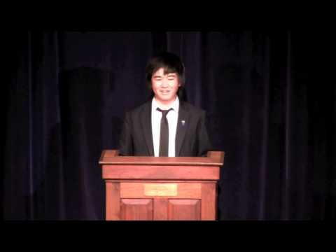 Gilman Senior Speech - Yanbo Li 3/15/12