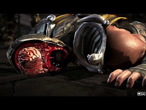 MK X Stop Ahead Fatality w/ Scorpion, Tourn., Hasashi, Kold War, Injustice, Klassic, Infrared, Gold