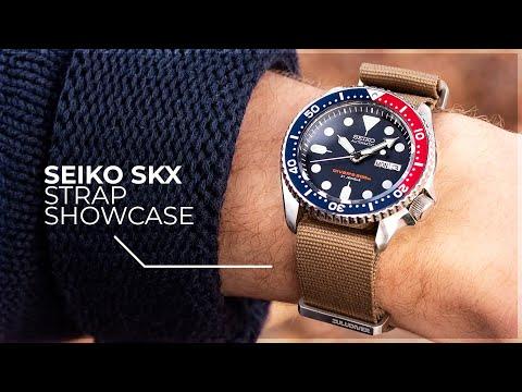 The Must Have Straps For The Seiko SKX009K1, SKX009J1 - Seiko SKX Strap Showcase