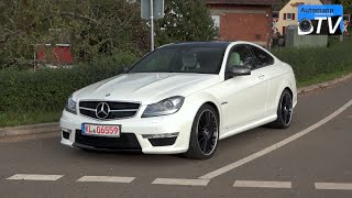 2014 Mercedes C63 AMG Coupe (487hp) - DRIVE & SOUND (1080p)