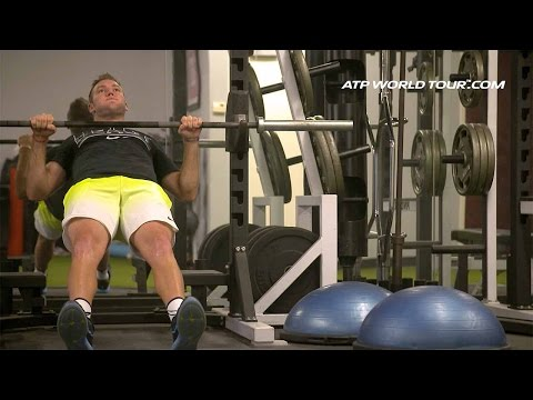 Off-Season Training With Jack Sock