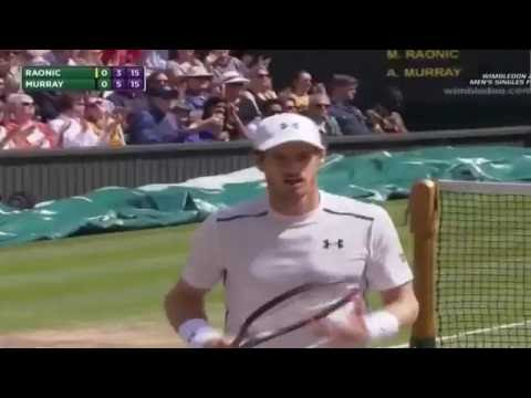 Andy Murray vs Milos Raonic FULL Highlights Final - Wimbledon 2016 (HD)