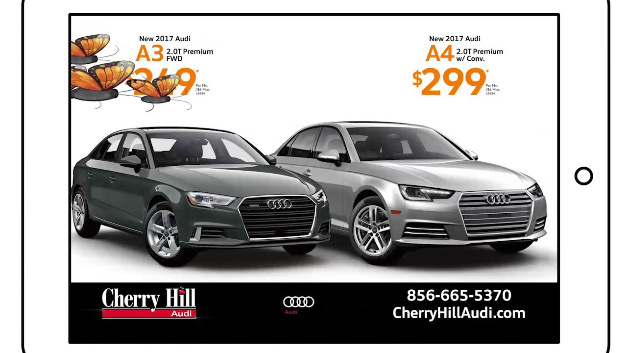 Cherry Hill Audi March 2017 A3 Amp A4 Internet Lease