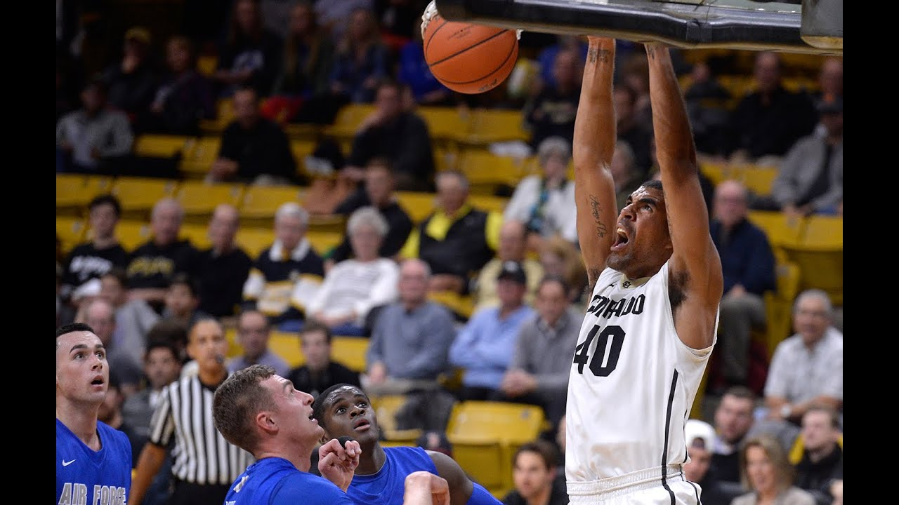 Recap: Colorado men's basketball rolls past Air Force in ...