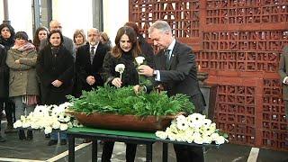Parlamento Vasco celebra el 'Día de la Memoria'
