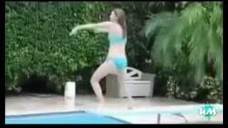 приколы с бассейном