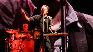 Bruce Springsteen death to my hometown chicago 9-7-12
