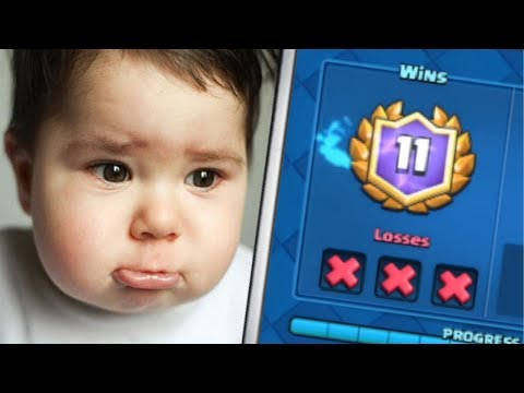 Thumbnail: 3 OF THE UNLUCKIEST THINGS TO EVER HAPPEN IN THE HISTORY OF CLASH ROYALE!