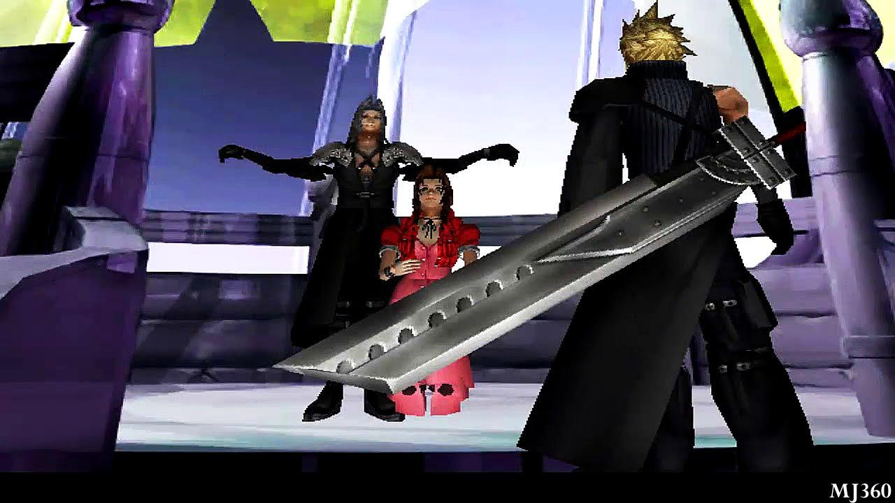 Final Fantasy VII ReMod Advent Children Aeriths Death HD