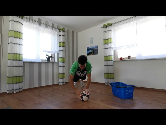 #Blibdihei - Push Up's mit Fussball