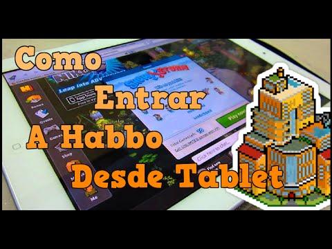 Entrar a habbo desde tablet youtube for Habbo entrar