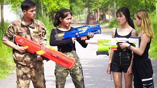 Xgirl Nerf War: Special Identity Of The Detective Girl
