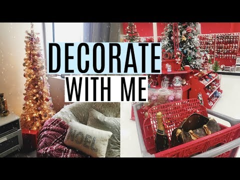 decorate my apartment for christmas with me - Decorating My Apartment For Christmas