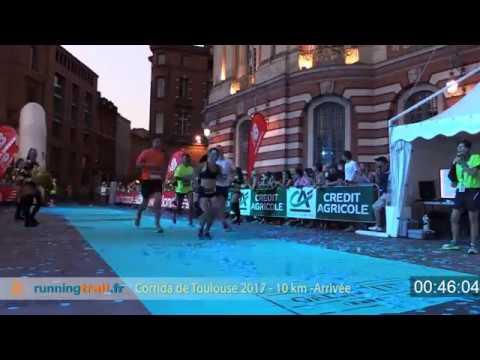 Toutes les arrivées -10km - corrida de Toulouse 2017