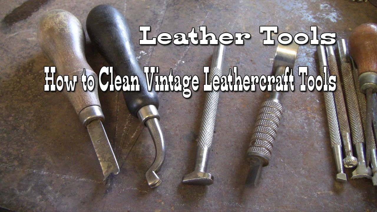Restoring Antique Leather Leather Tools Leathercraft How To Clean Vintage Leather
