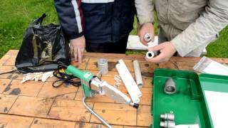 видео Аппараты для сварки полипропиленовых труб