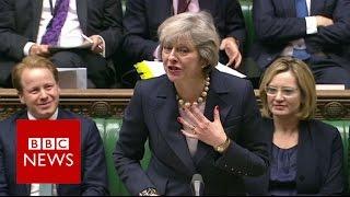 Cover images Theresa May on Boris Johnson: FFS - BBC News