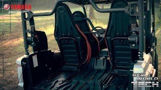 2018 Yamaha Wolverine X4 - Real World Tech - Seat Cargo Versatility