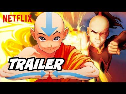 Avatar The Last Airbender Netflix Trailer - New Episodes Breakdown