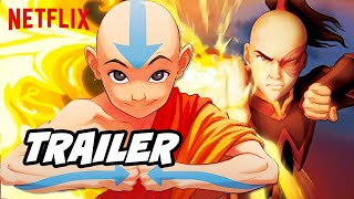 Avatar The Last Airbender New Netflix Episodes Breakdown and First Look Teaser