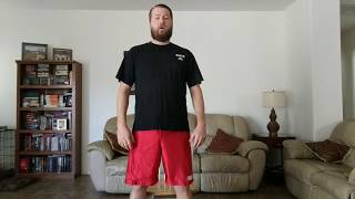 How to self adjust your knees (loud crack!)