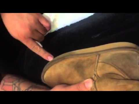 HOW TO CLEAN MY UGGS (SHOE MGK)