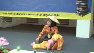 Indri  Ananda H. Juara H. I Final Nomor  02 Lomba  Bercerita Nasional SD/MI tahun 2014