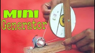 How To Make Mini Generator At Home     Easy