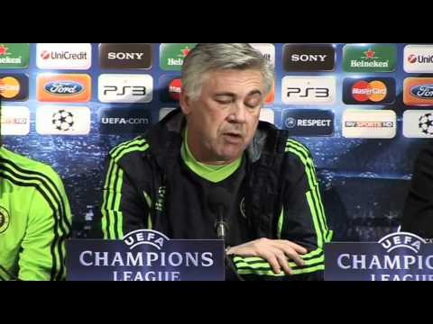 Ancelotti on Chelsea obsession and penalties