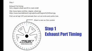 How to Design a Two Stroke Expansion Chamber Performance Exhaust - Step 1