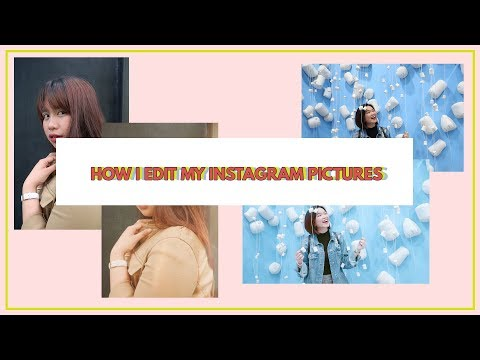 How I Edit My Instagram Pictures? (Vintage and Bright) // Ali King