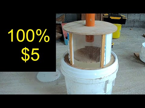Cyclone Dust Separator with Thien Baffle