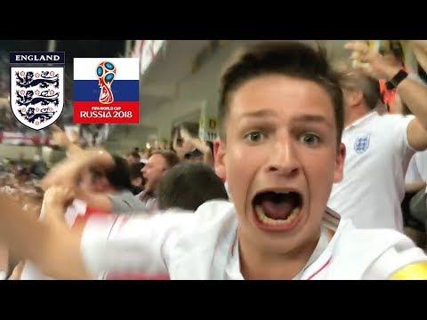 ENGLAND vs TUNISIA *VLOG* - FOOTBALL'S COMING HOME! Russia World Cup 2018