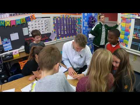 W&M's Andy Van Vliet on the Tribe's Visit to Matthew Whaley Elementary School