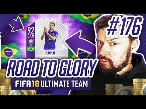 INSANE 92 RATED KAKA GOAL! - #FIFA18 Road to Glory! #176 Ultimate Team