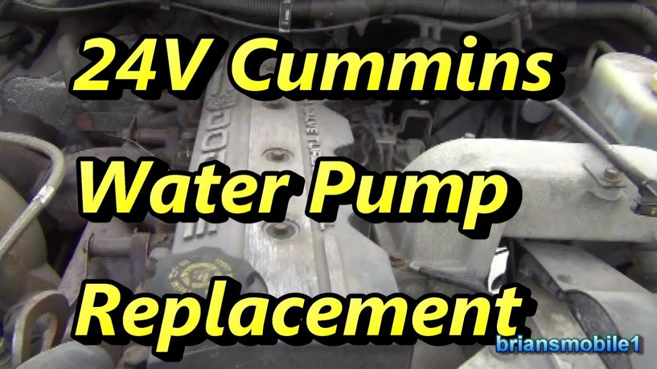 Watch also Snap On 94 98 Dodge 5 9l Cummins Timing Gauge Kit Sp500 likewise 2004 Lexus Rx330 Front Crankshaft Seal Timing Belt Replacement likewise Timing Chain Tensioner Leaking also Index php. on dodge water pump replacement