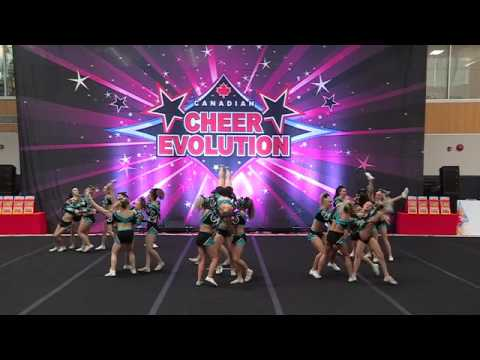 Cheer Sport Great White Sharks - Demo - Int'l Open 5