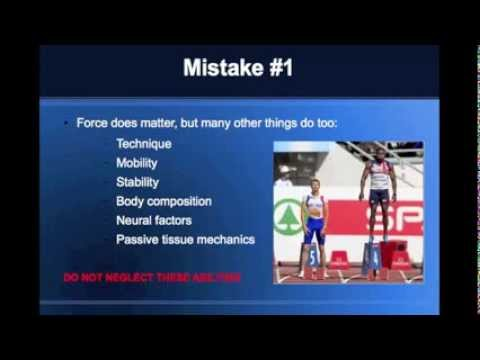 Top 5 Speed Training Mistakes | Rugby Strength Coach