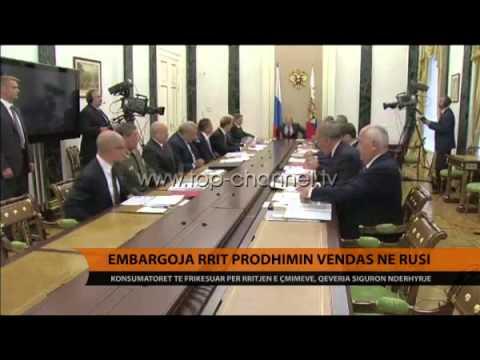 Embargoja rrit prodhimin vendas në Rusi - Top Channel Albania - News - Lajme