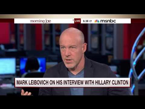 The New York Times Magazine's Mark Leibovich talks with Mike Barnicle (15 July 2015)